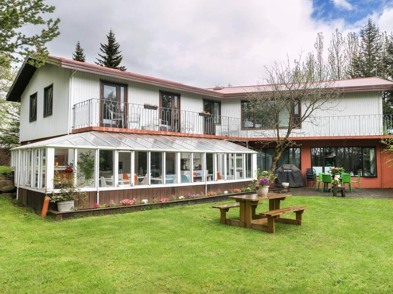 Golden Circle guesthouse met tuin
